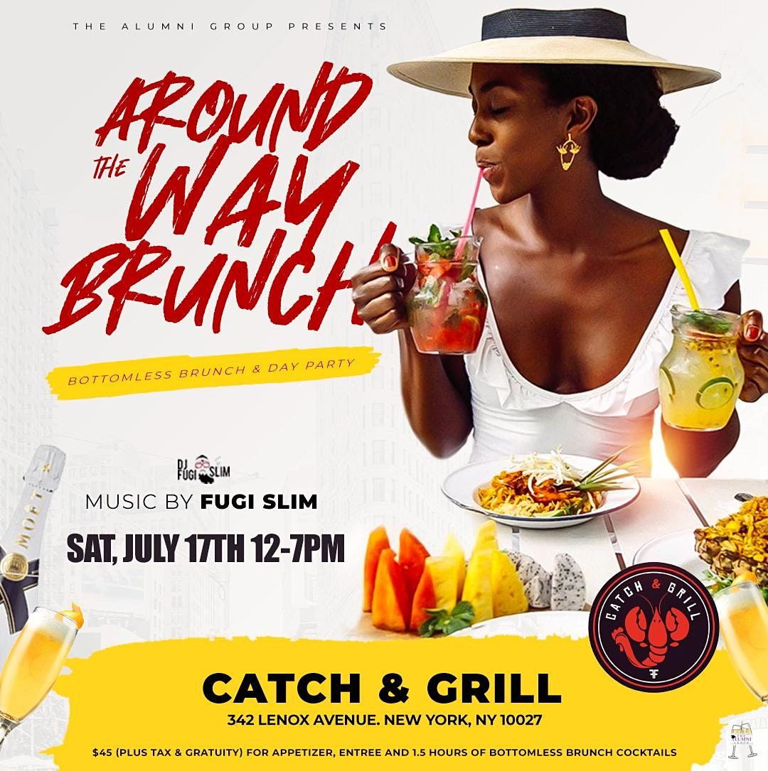 Around The Way Brunch - Bottomless Brunch & Day Party | Event in New York | AllEvents.in