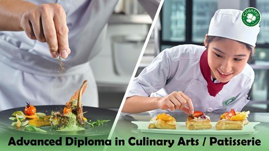 Intake for Advanced Diploma in Culinary Arts  Patisserie