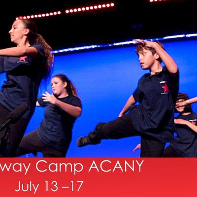 July Broadway Camp ACANY