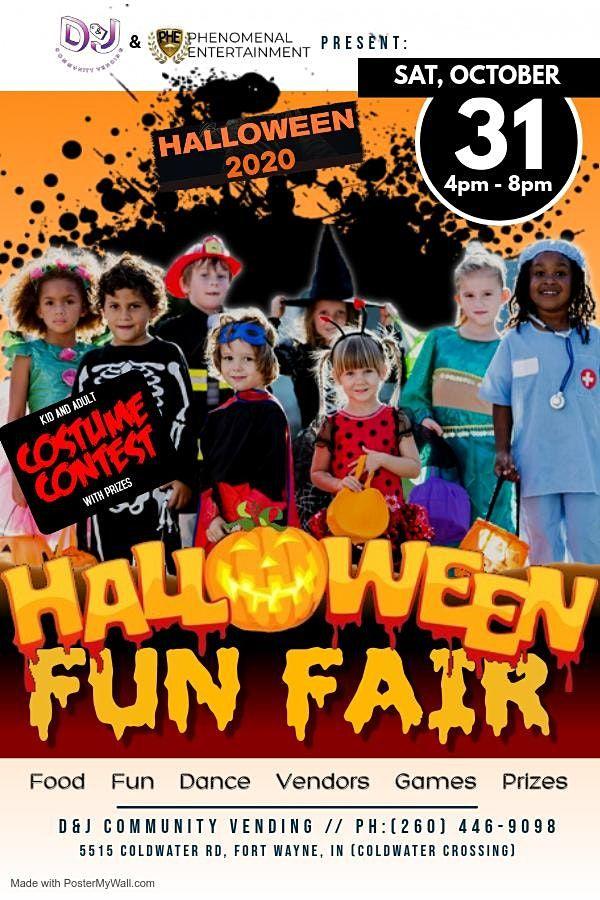 Fort Wayne Halloween 2020 Fort Wayne Halloween Fun Fair, D&J Community Vending, Fort Wayne