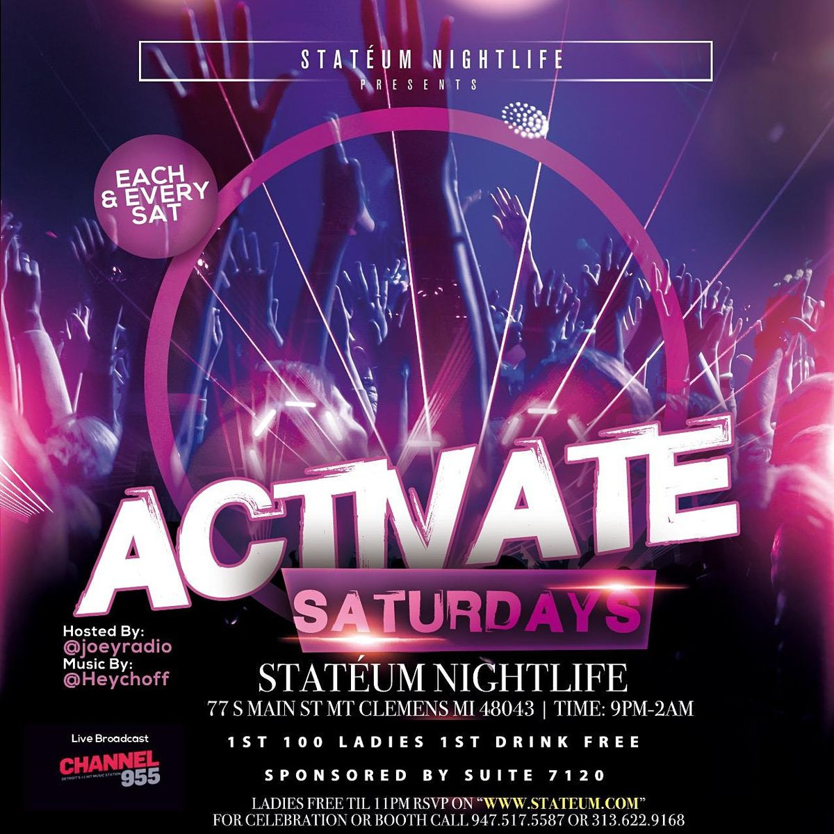 ACTIVATE SATURDAYS, 19 December | Event in Mount Clemens | AllEvents.in