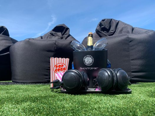 Rooftop Scary Movies with Bottomless Drinks