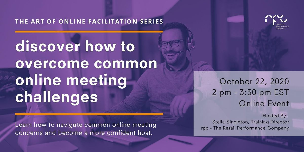 The ART of Online Facilitation: How To Overcome Online Meeting Challenges | Online Event | AllEvents.in