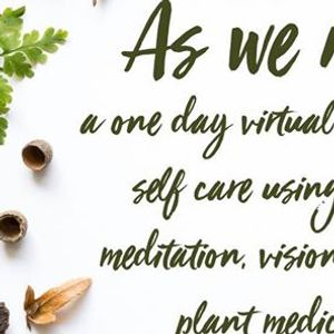 As We Rise  A one day virtual retreat for Self care  May 31st