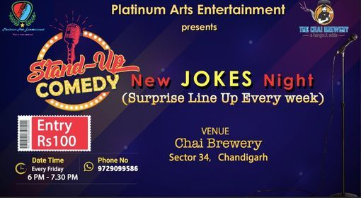 Stand up comedy open mic | Event in Chandigarh | AllEvents.in