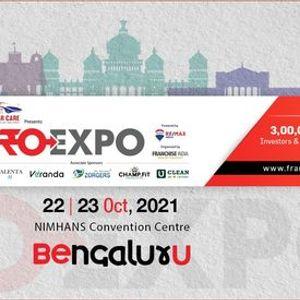 FROEXPO 2021  NIMHANS Convention Centre Bengaluru  Oct. 22-23 2021