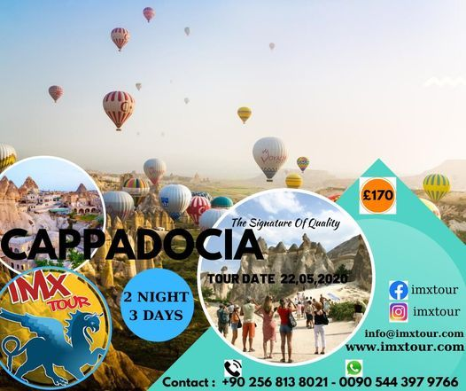 Cappadocia Tour, 20 May | Event in Mugla | AllEvents.in