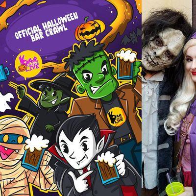 Official Halloween Bar Crawl  Richmond VA - Bar Crawl LIVE
