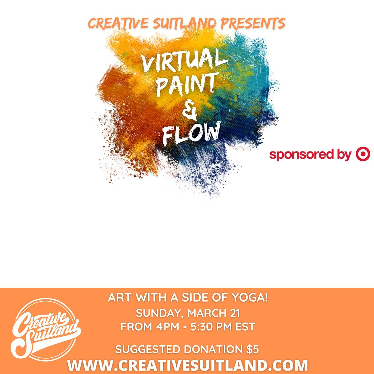 Self-Care Sundays: VIRTUAL PAINT+FLOW | Online Event | AllEvents.in