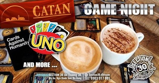 Game Night at Section 30, 8 March   Event in Sanhu Dao   AllEvents.in
