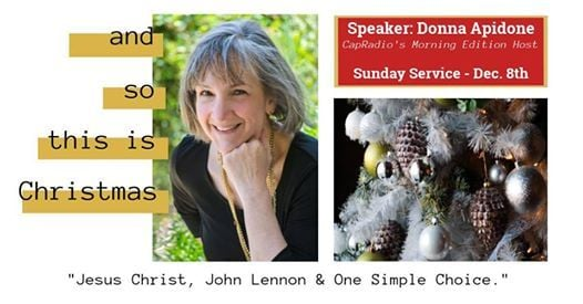 Sunday Dec 8 - And So This Is Christmas wDonna Apidone
