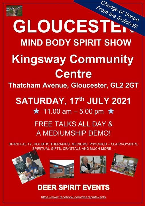 Gloucester Mind Body Spirit Show, 17 July | Event in Gloucester | AllEvents.in