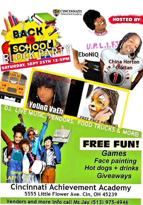 Back to School Block Party, 25 September | Event in Wyoming | AllEvents.in