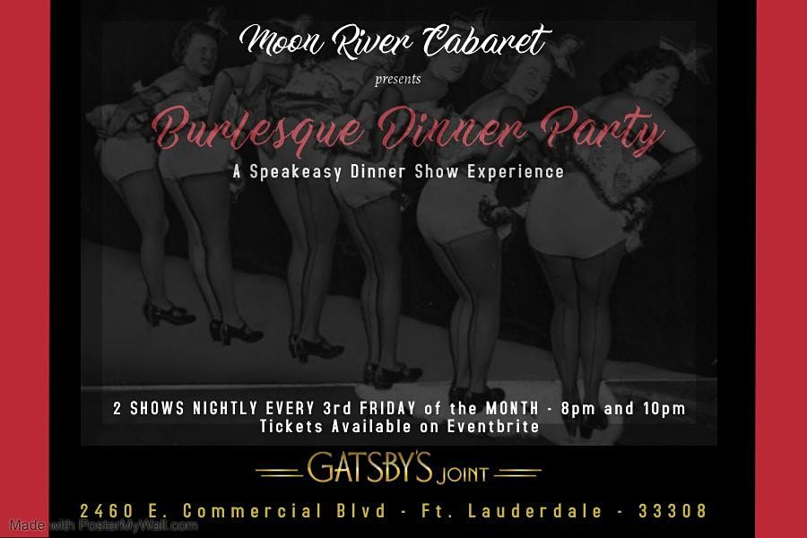Burlesque Dinner Party | Event in Fort Lauderdale | AllEvents.in