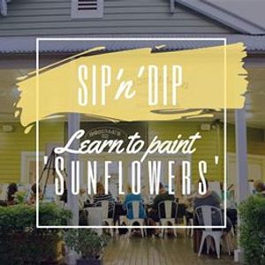 Moselles Springfield - Sip n Learn to paint Sunflowers