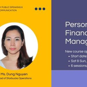 Course opening: Personal Finance Management at EIY Public ...