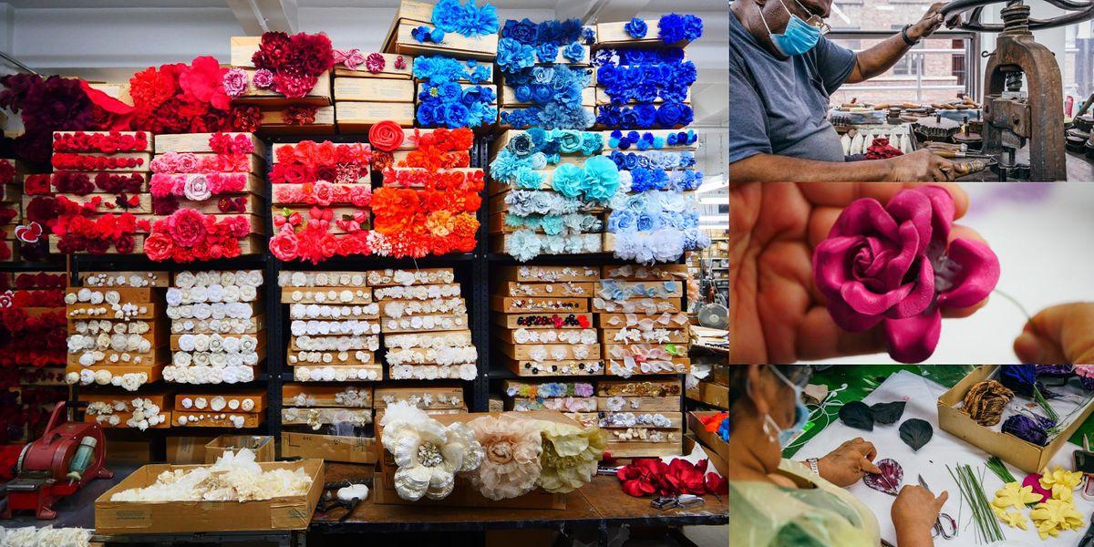 Rare Look Inside M&S Schmalberg, NYC's Last Custom Fabric Flower Factory, 30 September | Event in New York