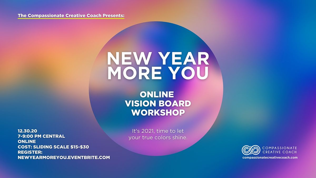 New Year More You-Online Vision Board Workshop, 30 December | Online Event | AllEvents.in