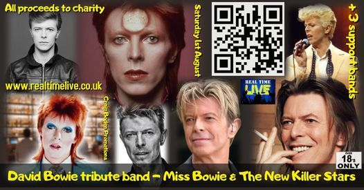 Top David Bowie tribute band at Real Time Live in Chesterfield!, 24 April   Event in Chesterfield   AllEvents.in