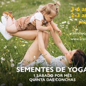 Sementes de Yoga 2 aos 6 anos