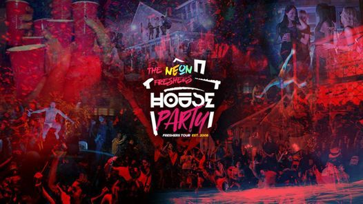 Neon Freshers House Party - Exeter Freshers 2020