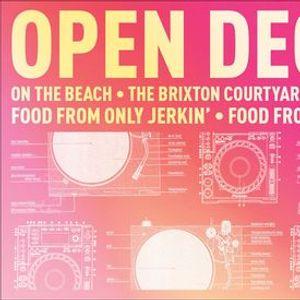 Free Entry Open Decks on The Beach - The Brixton Courtyard