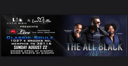 Black Love Live - The All Black Affair, 22 August   Event in Memphis   AllEvents.in