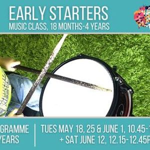 Music Generation Early Starters 18 months  4 years