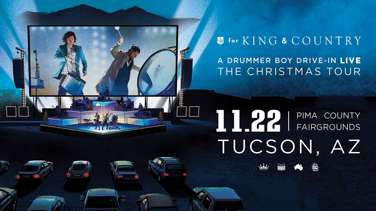 Christmas Events In Tucson 2020 for KING and COUNTRY's A Drummer Boy Drive In: The Christmas Tour