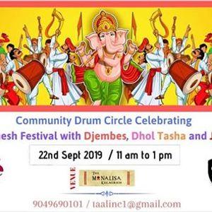 Taal Inc  Community Drum Circle