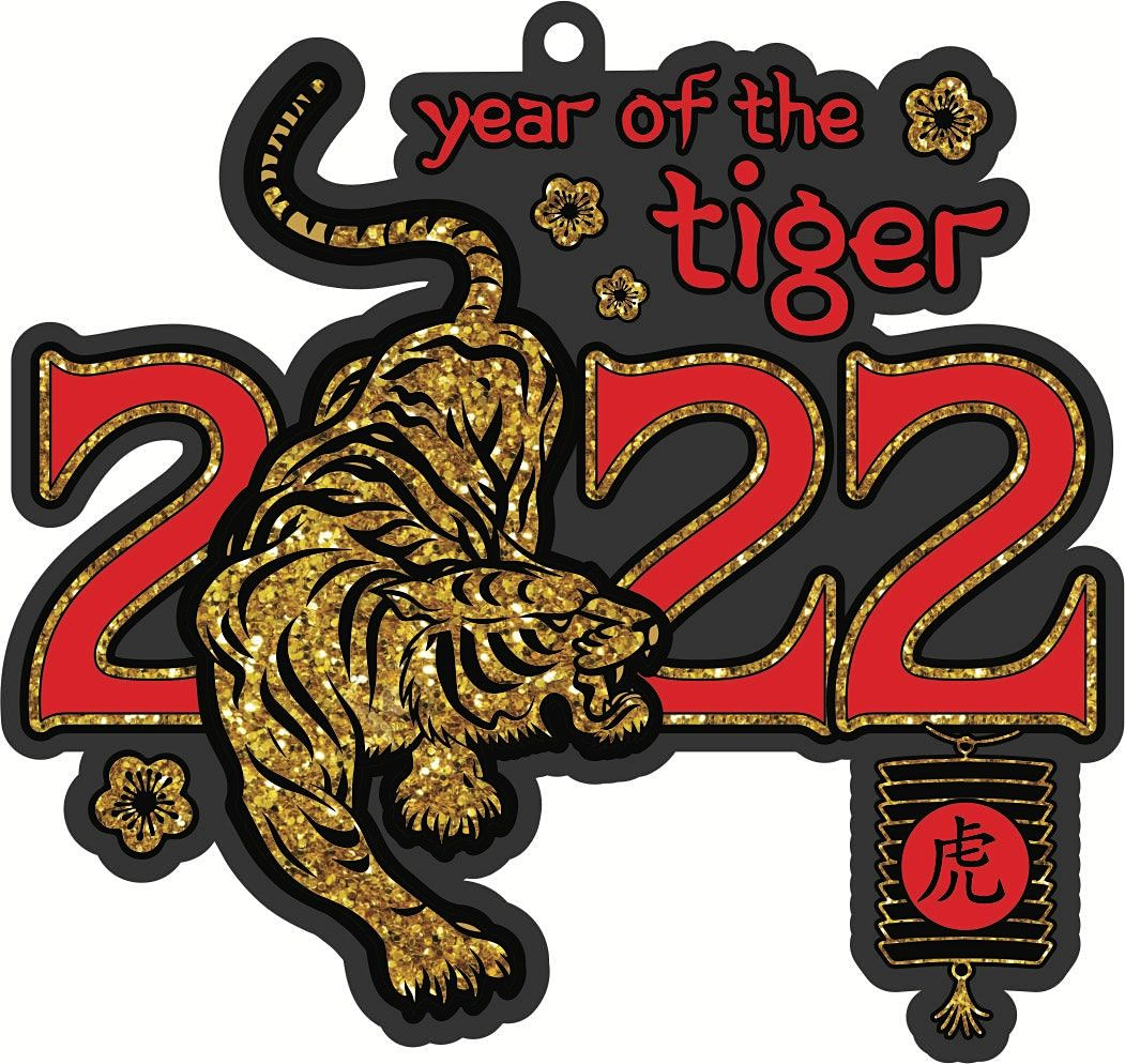 New Year Challenge–Year of the Tiger 2.022 Mile 20.22M 202.2M: Save $2, 1 January | Event in Memphis | AllEvents.in