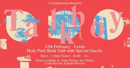 Talkboy // Leeds // 12.02.21, 12 February | Event in Leeds | AllEvents.in