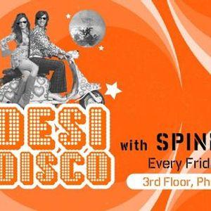 Desi Disco with Spinmaster Kaz (Bollywood Night)