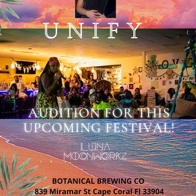 UNIFY TALENT SHOWCASE  at Botanical Brewing Company
