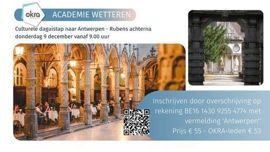 Culturele daguitstap - RUBENS ACHTERNA, 9 December | Event in Antwerp | AllEvents.in