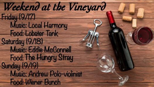 WEEKEND AT THE VINEYARD   Event in Brooksville   AllEvents.in