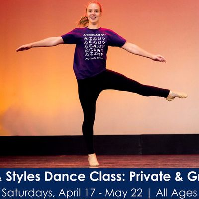 6-Week Steps & Styles Dance Class Private & Group Instruction