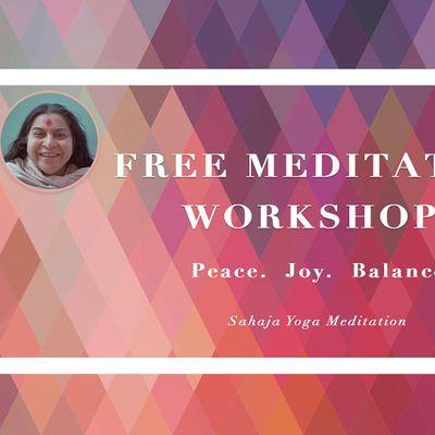Sahaja Yoga Meditation Workshop (Online Event)