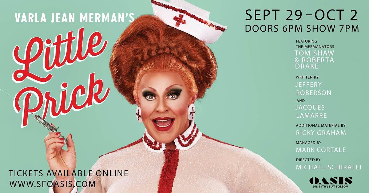 Varla Jean Merman: Little Prick, 29 September   Event in San Francisco   AllEvents.in
