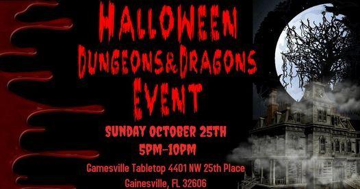 Gainesville Halloween 2020 Halloween D&D Event, Sun Oct 25 2020 at 05:00 pm
