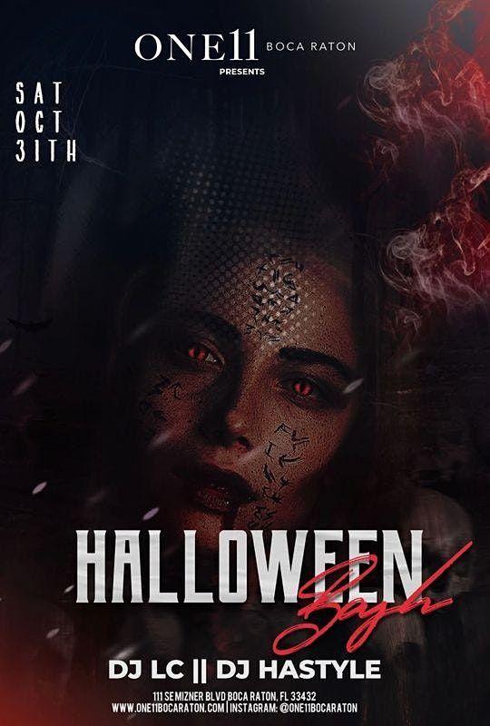 Friday Halloween Events Boca Raton 2020 Halloween Spectacular Sat. Oct 31st, 2020, One 11 Boca Raton