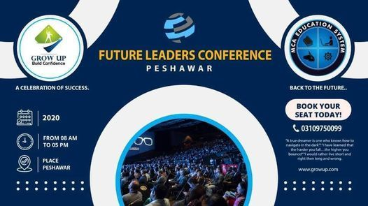 Future Leaders Conference, 26 November | Event in Peshawar | AllEvents.in