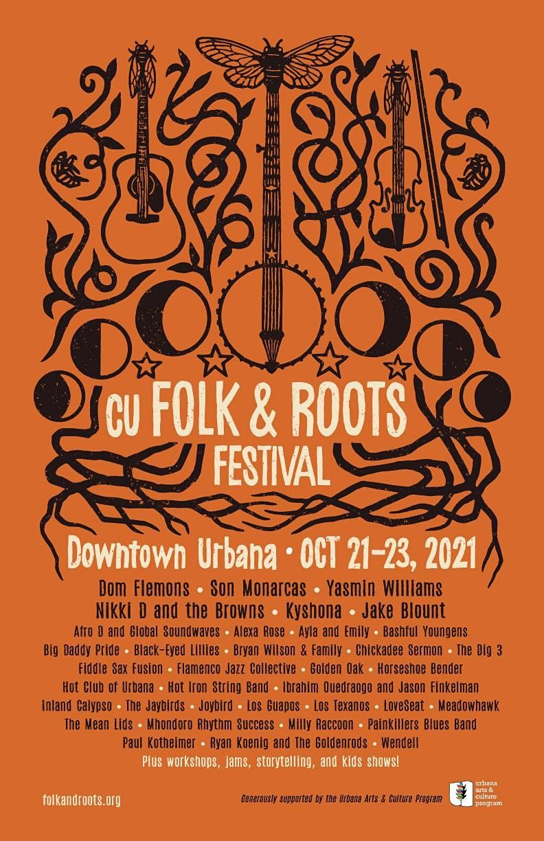 2021 CU Folk & Roots Festival | Event in Urbana | AllEvents.in