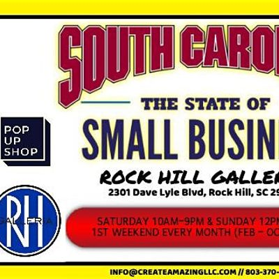 Small Business Pop-Up Shop (Rock Hill Day 1)