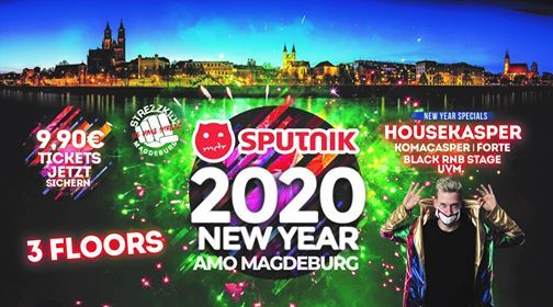 Silvester 2020 Magdeburg