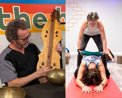 Sound Journey with Restorative Yin Yoga   Event in Marietta   AllEvents.in