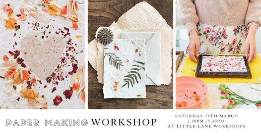 Paper Making & Flower Pressing Workshop