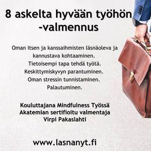 8 askelta hyvn tyhn -valmennus HakaniemiHKI