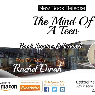 BOOK SIGNING LAUNCH  THE MIND OF A TEEN
