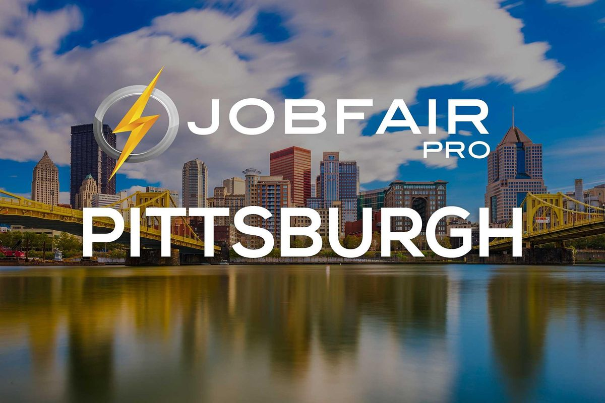 Pittsburgh Virtual Job Fair August 24 , 2021, 24 August | Event in Pittsburgh | AllEvents.in